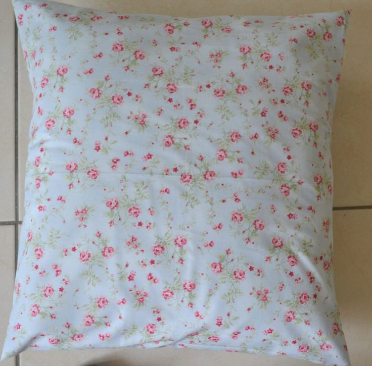How to make a simple pretty cushion cover to freshen up your surroundings - easy sewing project