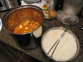 PREPARE TODAY: thermal cooker Mexican chicken delight with rice