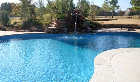 Vinyl liner inground pools vinyl swimming pools s s for Vinyl swimming pool