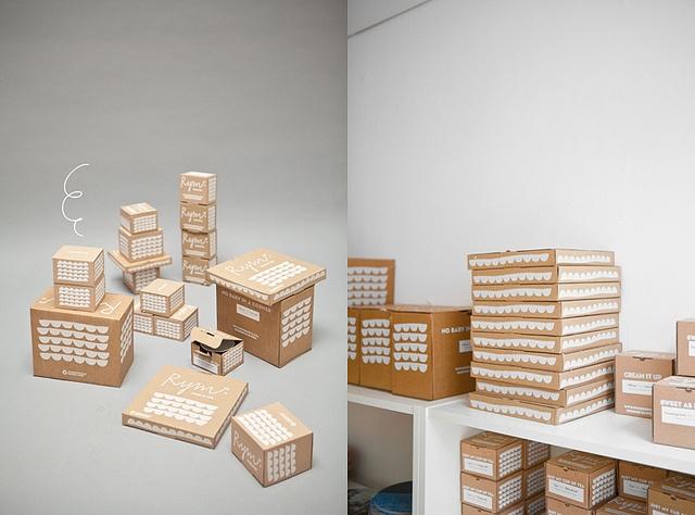fine little day boxes ++ via . AMM blog