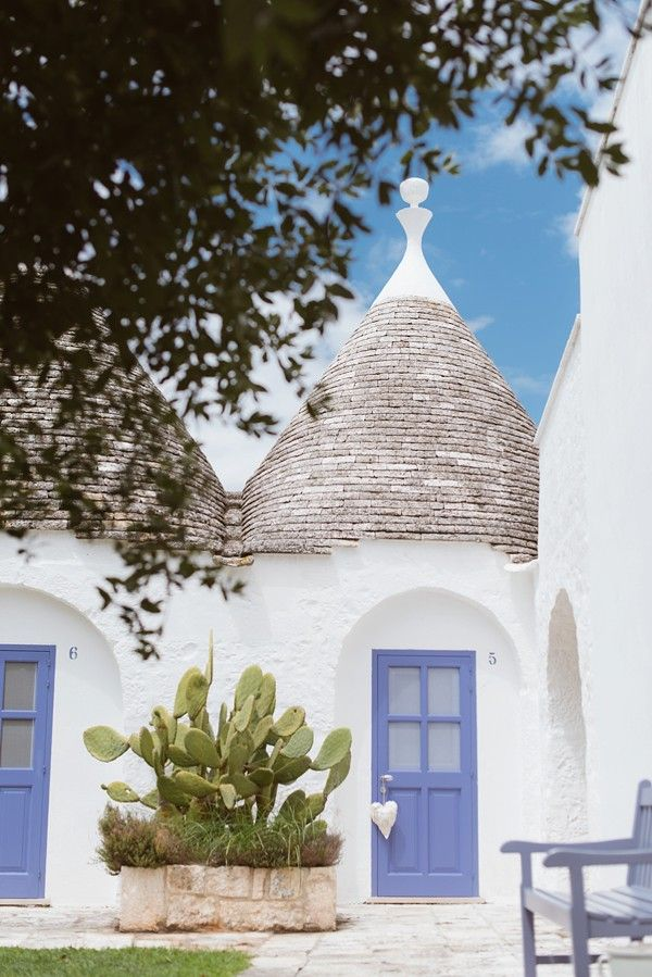 Trulli in Apulia #Puglia Wedding# Masseria country farmhouse in Apulia