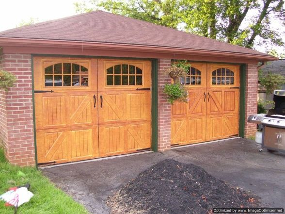 15 best images about garage door makeover on pinterest for Faux painting garage doors look like wood