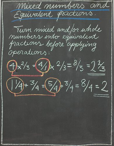 Fractions, 4th Grade