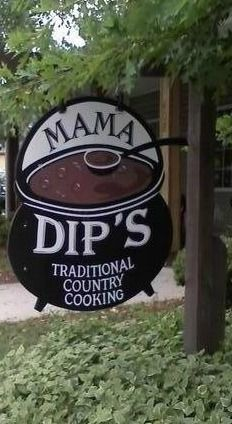 Mama Dip's - Chapel Hill, North Carolina How I could go for her Smothered Pork Chops today!!!  Yum!
