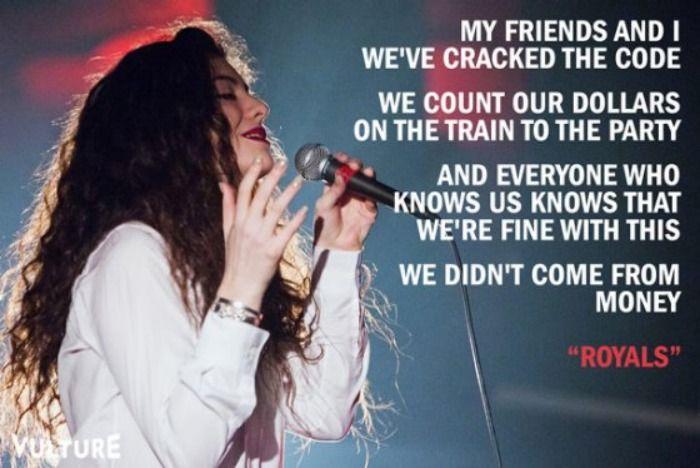 lorde royals lyrics