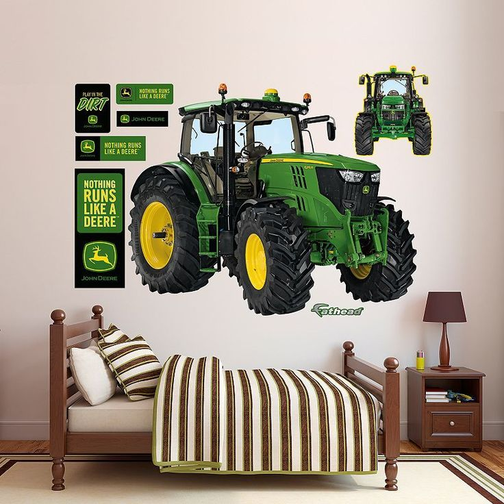 Attractive John Deere 6210R Tractor Wall Decals By Fathead, Multicolor Part 23