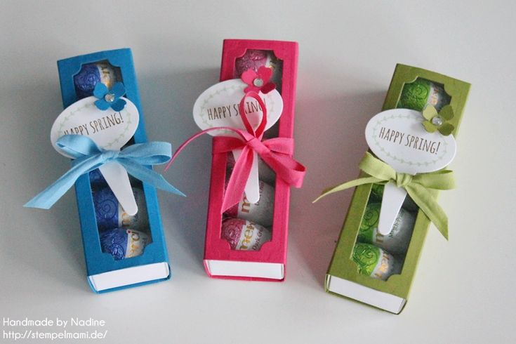 Stampin Up Oster Goodie Ostern Box Gastgeschenke Schachtel Verpackung Matchbox Stempelset From the Garden Stempelmami 011