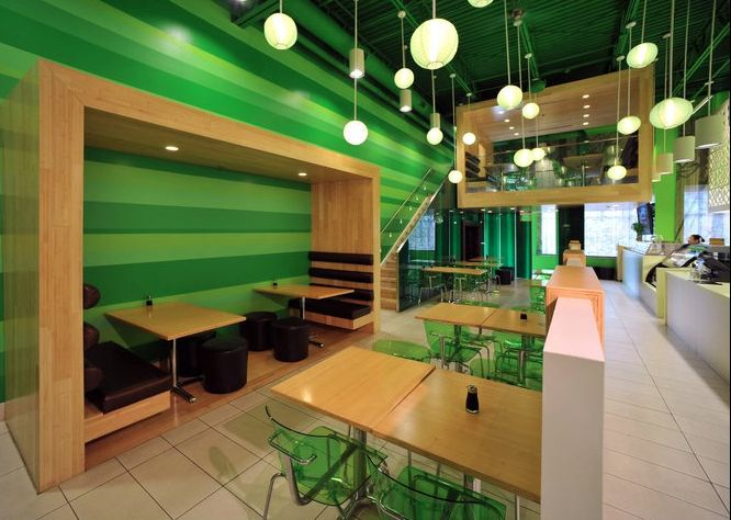 Sushi restaurant decor design ideas for the