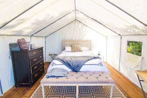 Terra Glamping's Luxury Tents Are Nicer Than Most Apartments