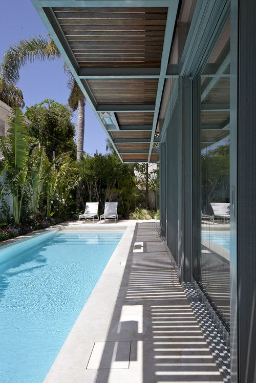 lap pool designs for small yards - Google Search