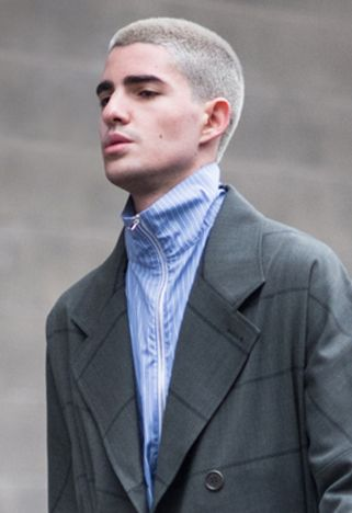 Three New Mens Hairstyles For Spring 2017 – Grooming Trends including undercut braids and dreads, bleached blonde buzz cut and cool mid-length hair.
