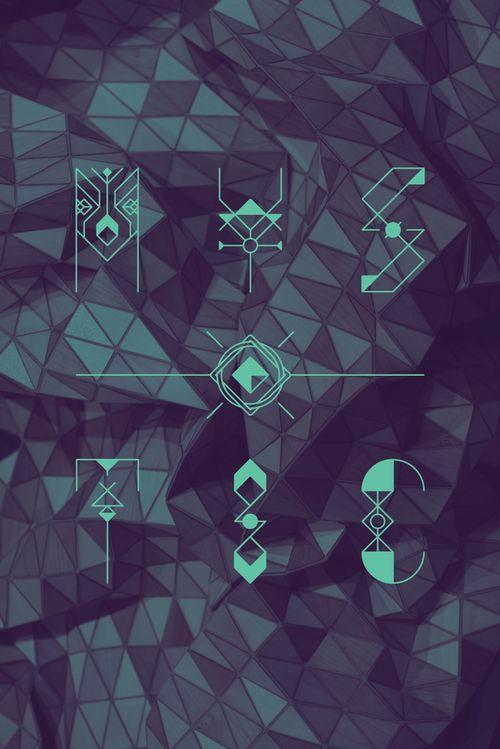 ZONDAG by jacopo severitano #typographic #design #graphic #pattern
