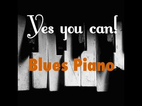Slow Blues Piano improvisation, understanding 'tension' in improvisation - YouTube