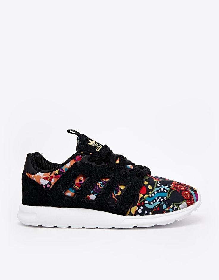 Adidas Originals X Farm Black Print Trainers