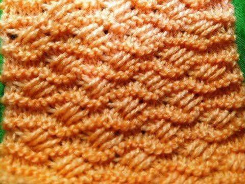 Knitting Pattern / Stitch Design # 11 - Hindi - बुनाई डिजाइन - cross stitch - YouTube