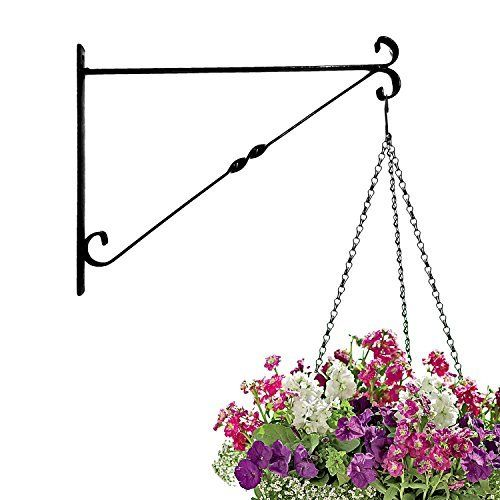 "Amagabeli 14"" hanging plant hooks fence deck garage balcony outdoor lawn iron bracket for planters  List Price: $44.95  Deal Price: $9.99  You Save: $10.00 (50%)  Amagabeli 14"" hanging plant hooks fence deck garage balcony outdoor lawn iron bracket for planters-B016566W9A-6.63-200  Expires Oct 25 2017"