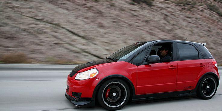 suzuki sx4 #sx4 #black&red