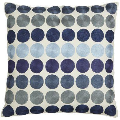Blue Dots Pillow