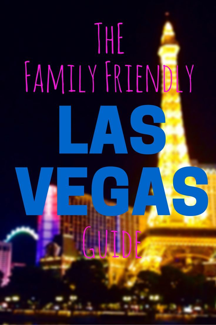 Visiting Las Vegas with kids? Read my family friendly Las Vegas guide to find things to do in Las Vegas with kids, family friendly hotels, and show to see in Las Vegas. | usa travel
