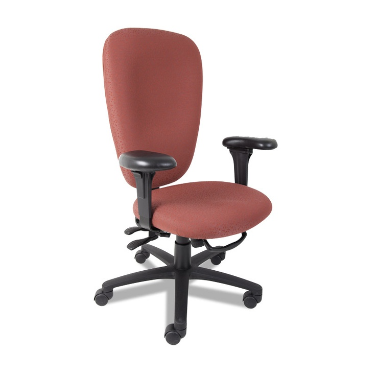 Our Wave high back chair is a great economical chair with all of the adjustments to fit you.
