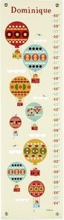 Hot Air Balloon Growth Chart - contemporary - kids decor - by The Land of Nod