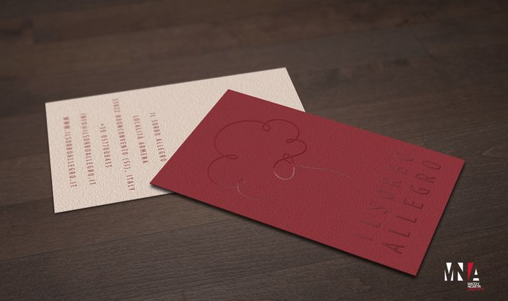 Il Sorbo Allegro - logo - business card