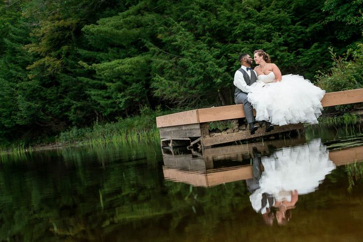 #VisualRoots #Bride&Groom  #Dockside #Muskoka