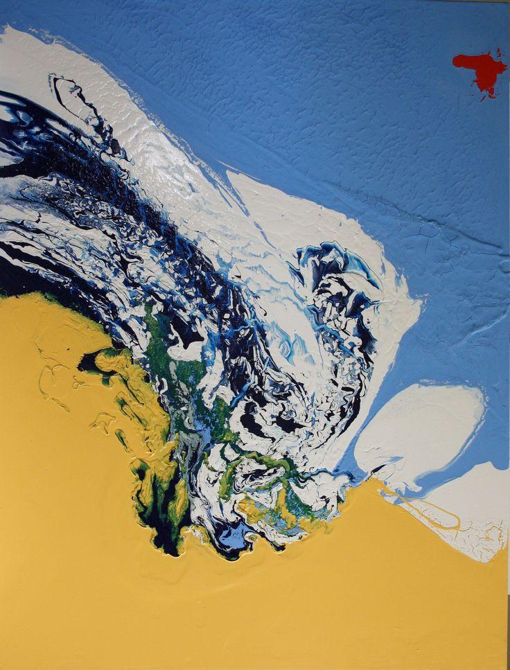 Creation, Antal Fülöp , canvas 80x60cm