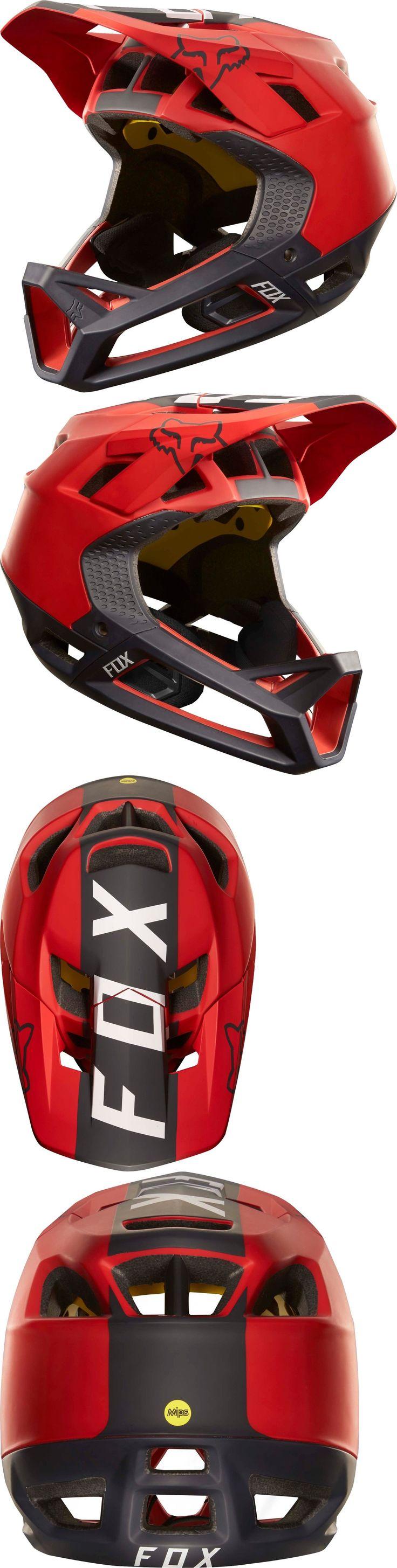 Helmets 70911: Fox Racing Proframe Libra Helmet Red/Black BUY IT NOW ONLY: $249.95