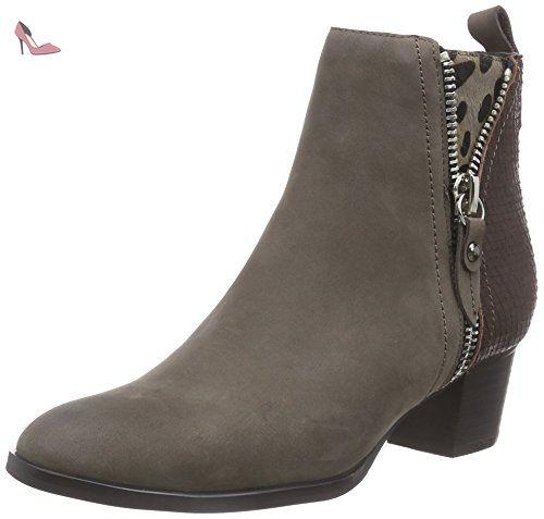 JYCX15PR100-1, Damen Chelsea Boots, Schwarz (Black), 40 EUGiudecca