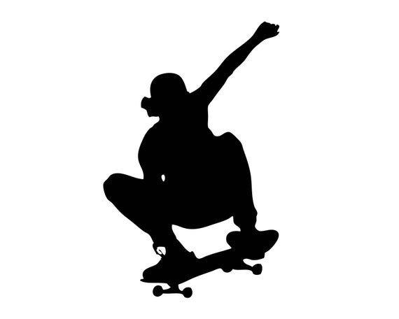 Skateboarding Logo Skateboard Skateboarder Wheel Ollie Skate Etsy In 2021 Abstract Elephant Skateboard Logo Skateboard Art