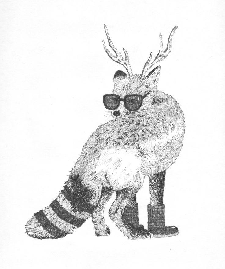 Fox in disguise - Mette Nørhede/Gefiltefish