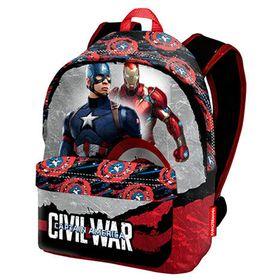 Mochila de Capitán América Civil War, de la factoría Marvel. 41CM