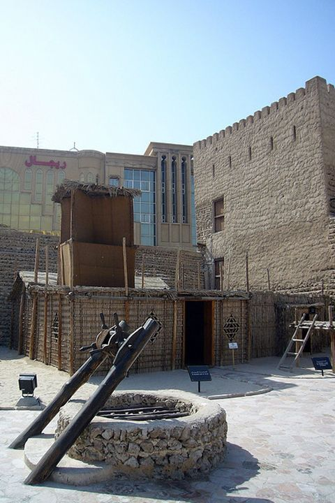 """Dubai Museum - Arish also called """"barsati"""", means a traditional summerhouse, characteristic of Arabic countries. For more information visit http://www.guiddoo.com/"""