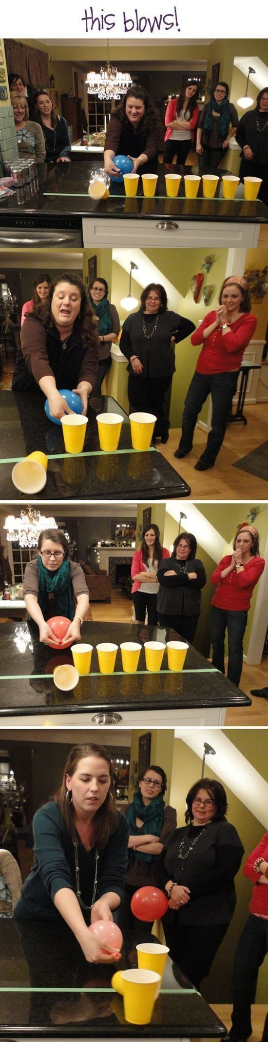 Game for coworkers - 11 Minute To Win It Games To Play At Parties