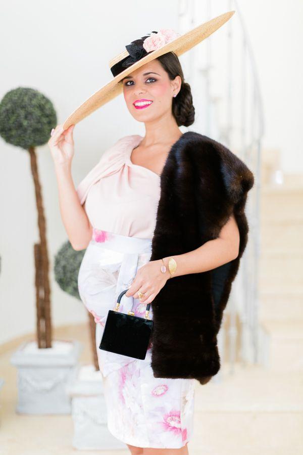 b5807906fa2d Look de invitada de día embarazada Falda/Skirt: Vestidissima Top ...