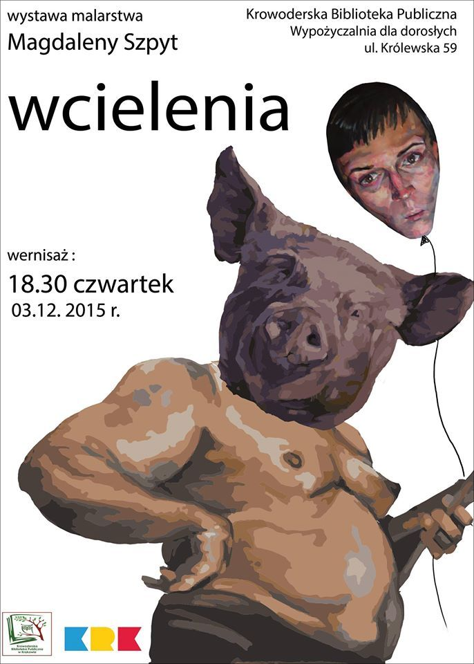 Magdalena Szpyt jest studentką drugiego roku malarstwa na krakowskiej Akademii Sztuk Pięknych. Uprawia malarstwo figuratywne realizowane w sposób ekspresyjny. Tematem, który ja najbardziej interesuje jest psychika w znaczeniu filtru, przez który człowiek postrzega rzeczywistość. Największym wyzwaniem w malarstwie - anegdotyczność obrazu, ale nie wynikająca z narracji, tylko z zestawienia obiektów widzianych i sposobu ich przedstawienia.