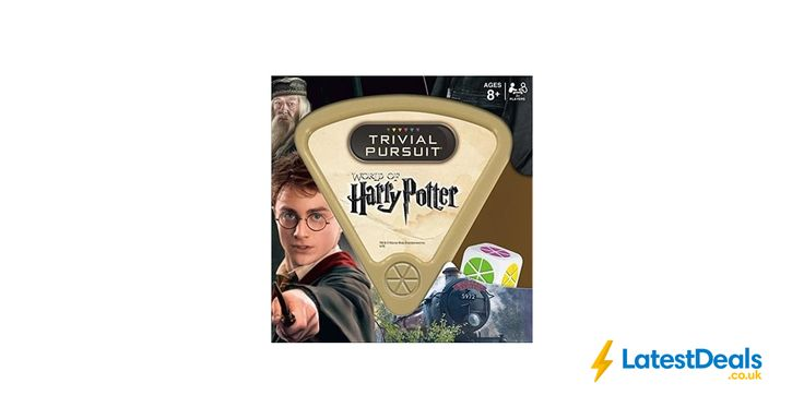 Wizarding World of Harry Potter Trivial Pursuit game, £8.40 at Amazon UK