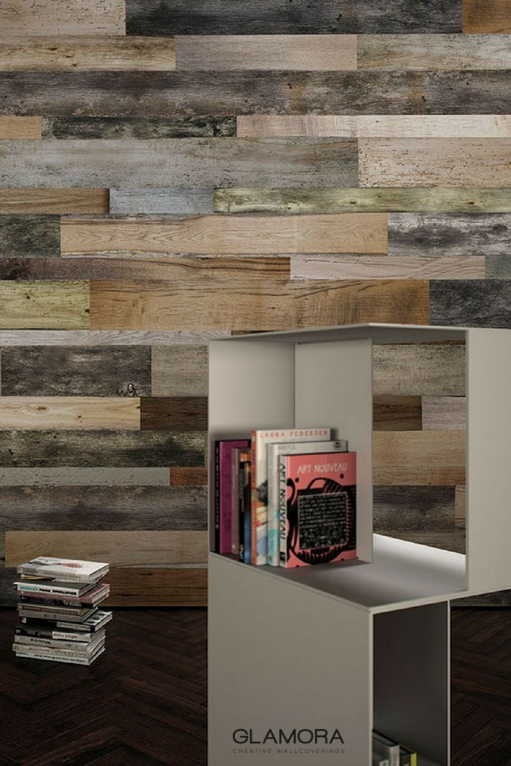 Woodnote | Industrial Wallcovering & Carta da Parati | Raw collection by Glamora