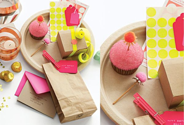 neon with neutrals: Social Network, Neon Holiday, Neon Crafts, Buzz Buzz Neon, New Pastel Neon, Pom Pom, Neutral, Cupcake Toppers