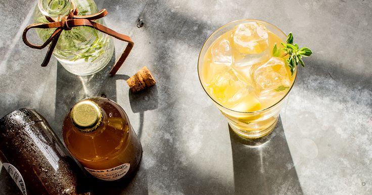 Ce rafraîchissant cocktail plein d'effervescence mettra du piquant dans vos rencontres entre amis.