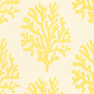 Lilly Pulitzer Seafan Dandelion Embroidery Upholstery