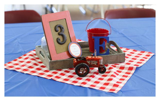 vintage tractors Birthday Party Ideas | Photo 8 of 21 | Catch My Party