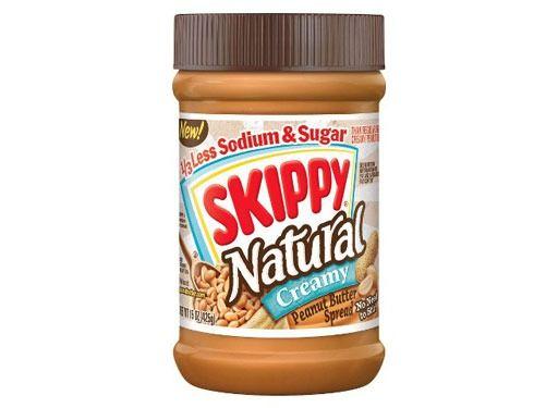 Skippy Creamy Natural Peanut Butter
