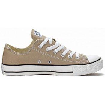 Chaussures De Sport Chuck Laag Taylor Tout Boeuf Dainty Étoiles Rood / Converse Esprit Dpbrti
