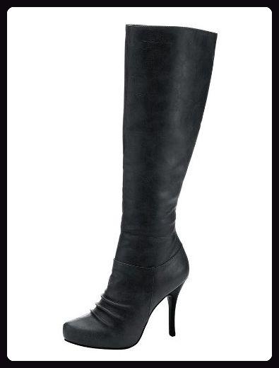 CHILLANY - Heine Damen-Schuhe Stiefel Schwarz - Stiefel für frauen (*Partner-Link)