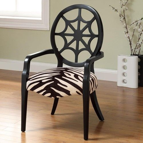 Best Accent Seating Spider Back Animal Print Accent Chair 400 x 300
