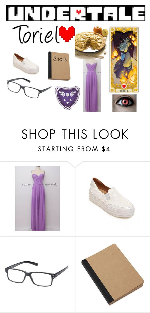"""""""Undertale Toriel cosplay"""" by kbnewman on Polyvore featuring JY Shoes, Epic, Rune NYC, rpg, cosplay, videogames, undertale and toriel"""