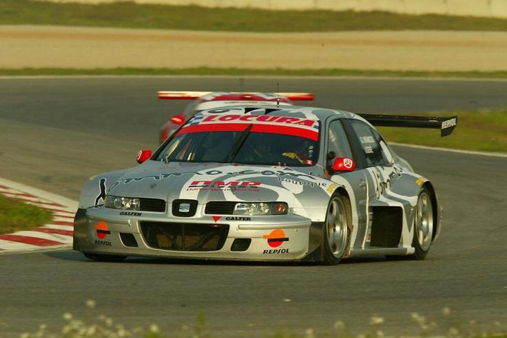 Jordi Gené-Ginés Vivancos. SEAT Toledo GT. Spanish GT Championship 2003