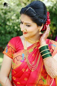 Marathi wedding saree